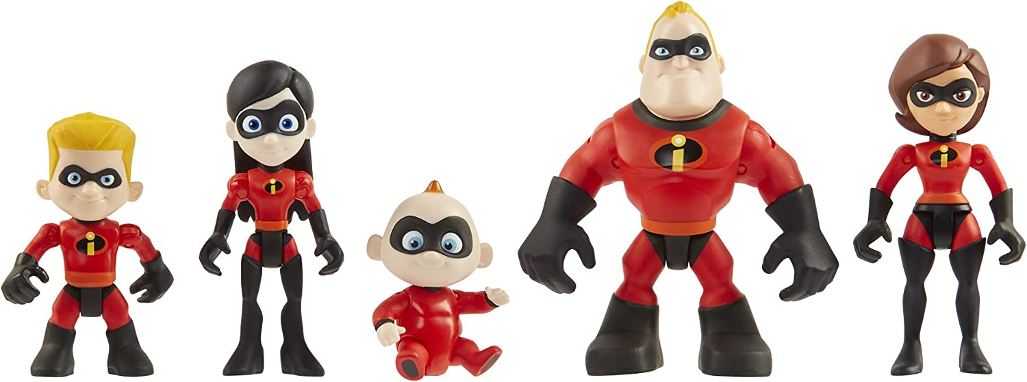 Aprox 2 Inches High Dash Disney The Incredibles Mini Figure