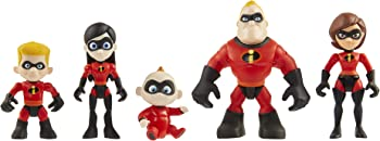 5-Pack The Incredibles 2 Family Junior Supers Action Figures