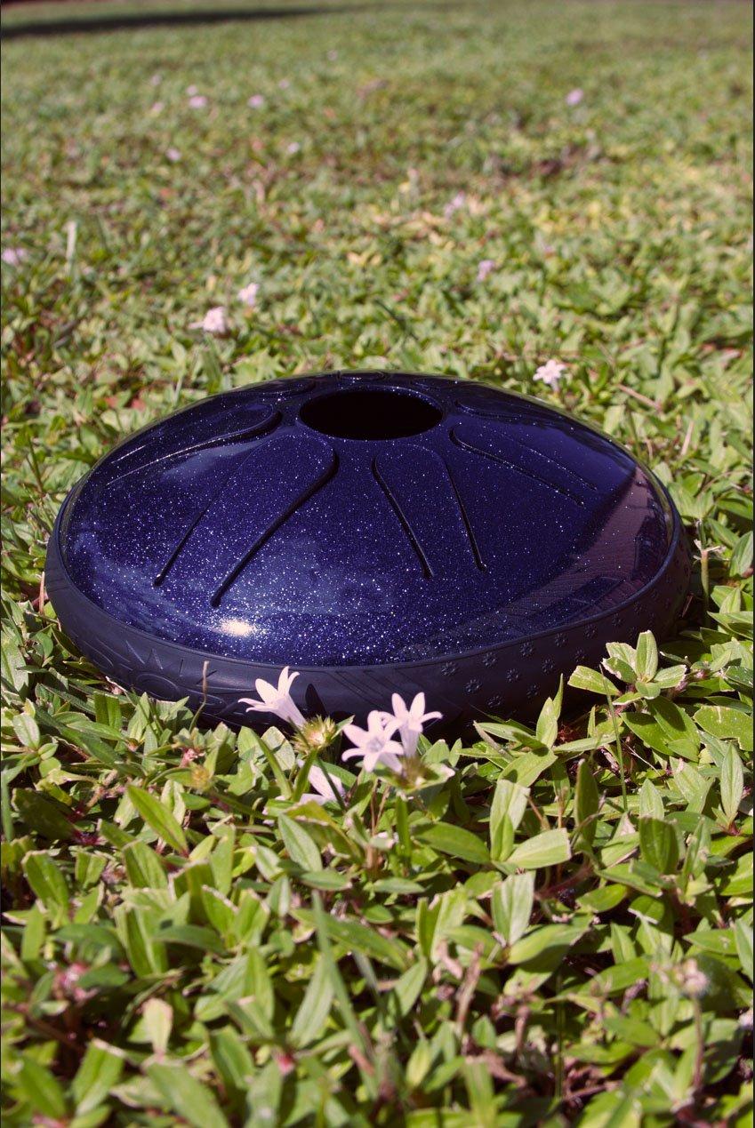 Idiopan Lunabell 8 Steel Tongue Drum Sapphire Blue