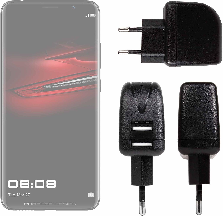 DURAGADGET Cargador con Enchufe Europeo para Smartphone Huawei P20 ...