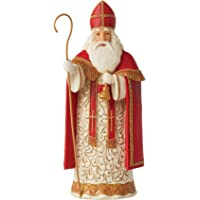 Enesco Jim Shore Heartwood Creek Belgian Santa Figurine