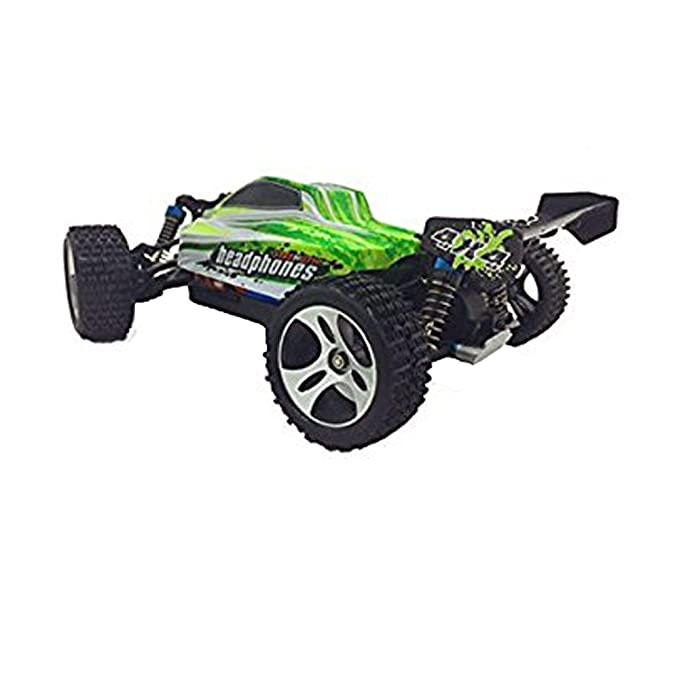 Amazon.com: WLtoys A959-B 1/18 4WD Buggy Off Road RC Car 70km/h: Toys & Games