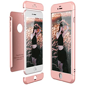 CE-Link Funda para Apple iPhone 6 Plus 6S Plus Rigida 360 ...