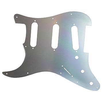 Oro anodizado 11 agujeros Stratocaster Golpeador para - se ajuste a EE. UU./México Fender: Amazon.es: Instrumentos musicales