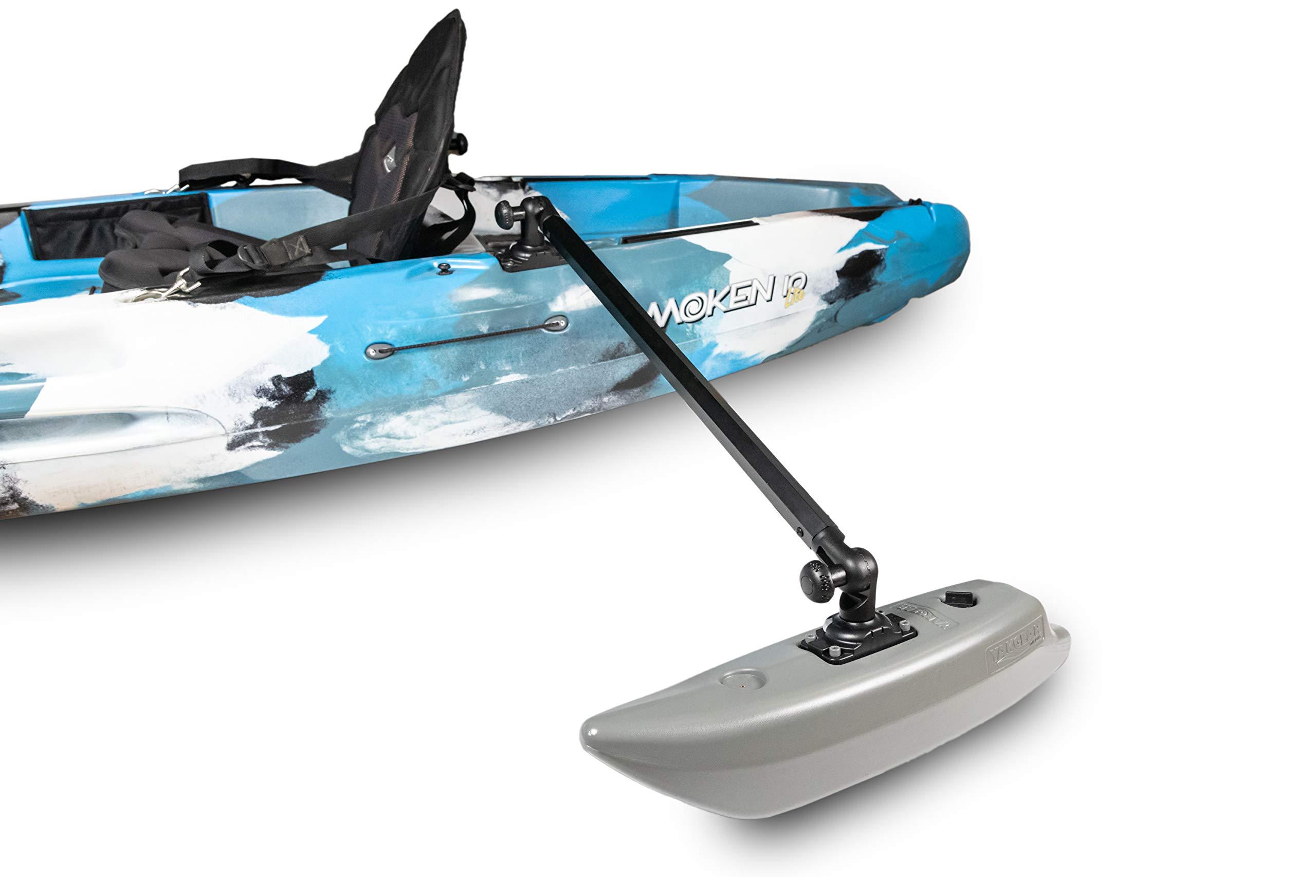 YakGear Kayak & Canoe Outrigger Stabilizers - Generation 2 by Yak-Gear