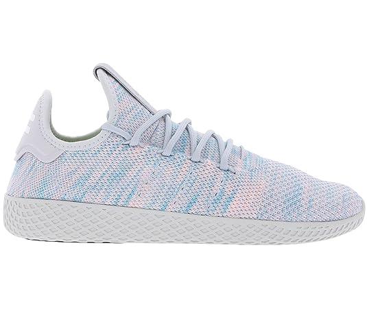 sports shoes 58996 22b55 adidas Scarpe Pw Tennis Hu grigio blu rosa  Amazon.it  Scarpe e borse