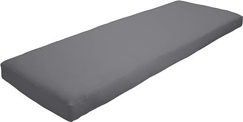 Amazon Custom Furnishings x Easy Way Products 20565 Custom Zipped Knife Edge Bench Cushion