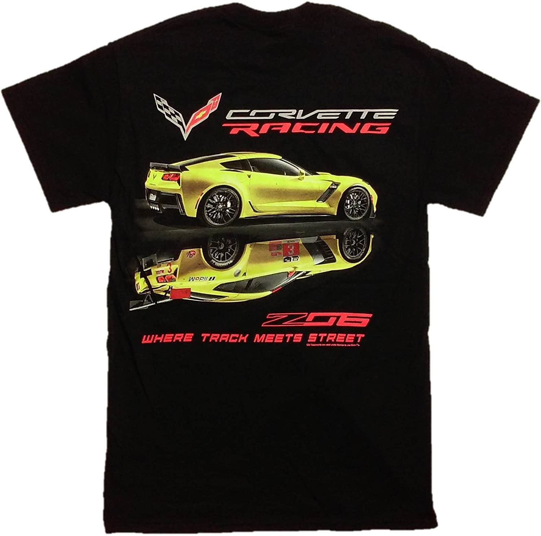 C7 Corvette American Legacy Mens T-Shirt Medium, White