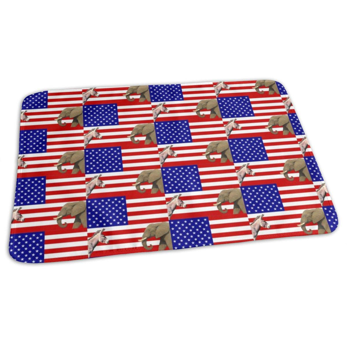 It's Not About The Party, It's About The Country Baby Portable Reusable Changing Pad Mat 19.7x27.5 inch