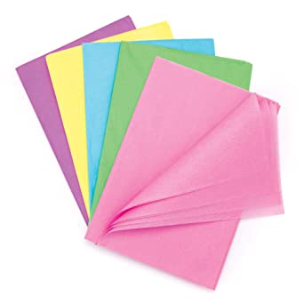 Baker Ross Pack ahorro de papel seda en tonos pastel (Paquete de ...