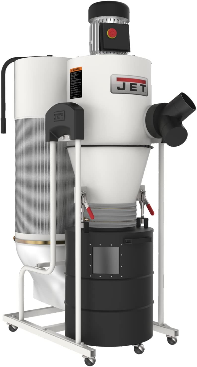 Jet JCDC-1.5 1.5 hp Cyclone Dust Collector