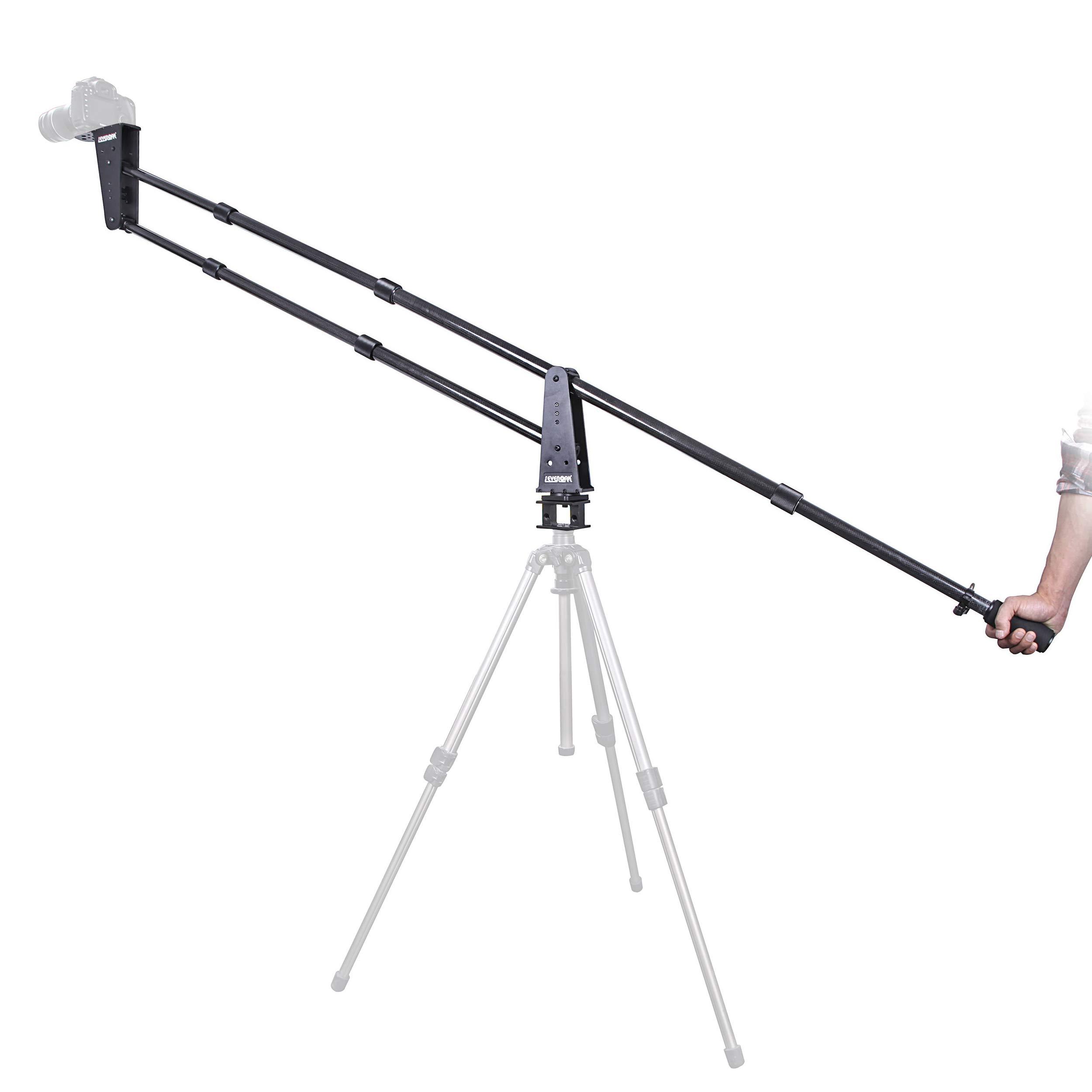 Sevenoak SK-JA20-II 7-Foot Carbon Fiber Jib/Crane with 360° Panning Base - Load Capacity 11 lb (5kg) by Sevenoak