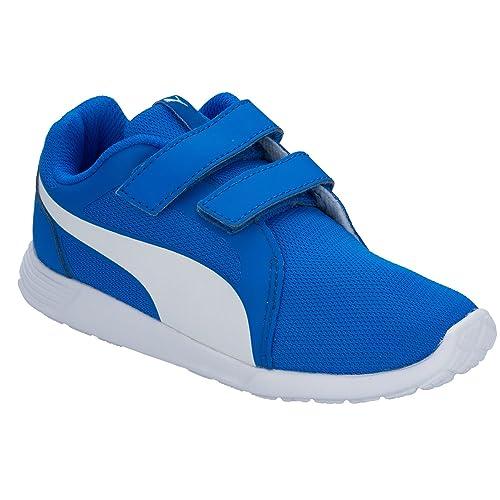 Puma - Zapatillas de Tela para niño azul azul: Puma: Amazon.es: Zapatos y complementos
