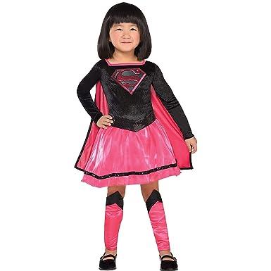 Amazon.com: Disfraz de Superman para niñas pequeñas, talla ...