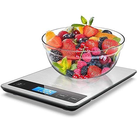 Amazon.com: Escala de alimentos, báscula de alimentos ...