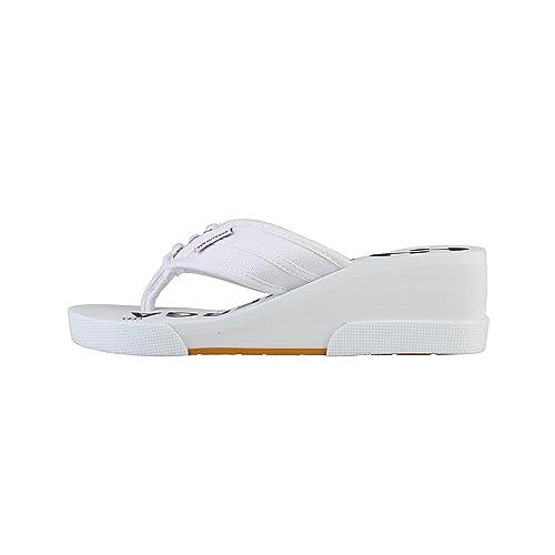 nuove promozioni superga scarpe bianco alla infradito