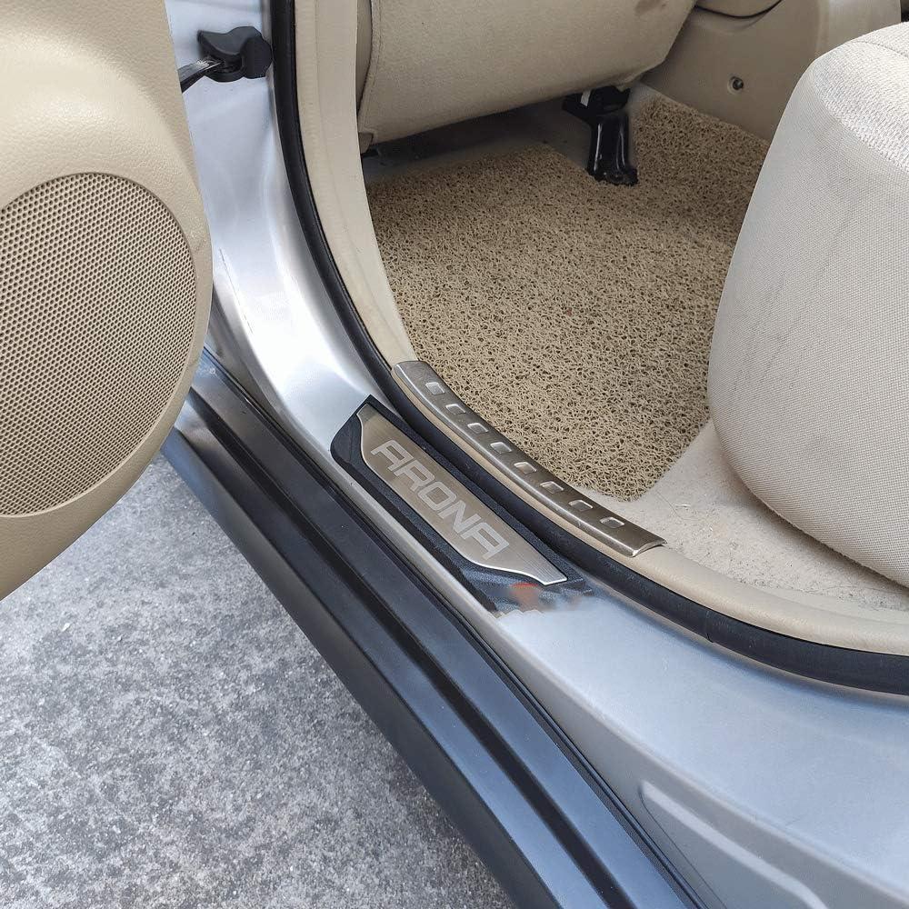 Edelstahl N//A 4 St/ücke Einstiegsleisten F/ür SEAT Arona FR 2017-2020 T/ürpedal Pedal Kick Plates Threshold Bar Schwellenabdeckung T/ürschweller Schutzstreifen Dekoratives Zubeh/ör