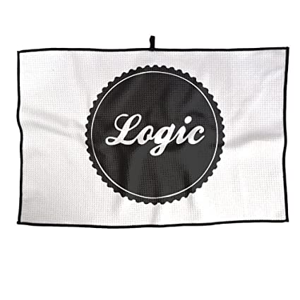 Vdb One Size Golf Towel Logic Logo Rapper