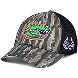 2efcd55254e Top of the World Florida Gators Realtree Camo Prey Mesh Curved Snapback Cap  Hat