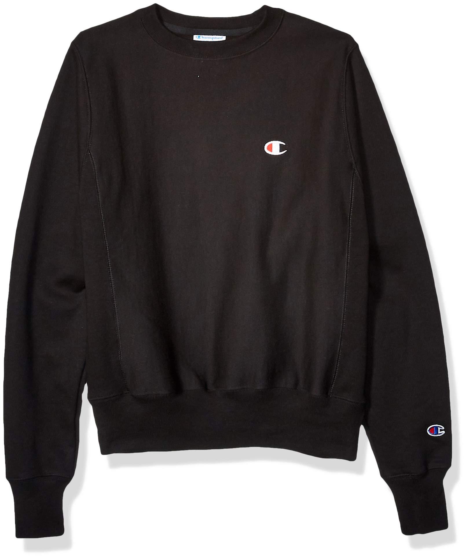 Champion LIFE Men's Reverse Weave Sweatshirt, X-Small Black by Champion LIFE