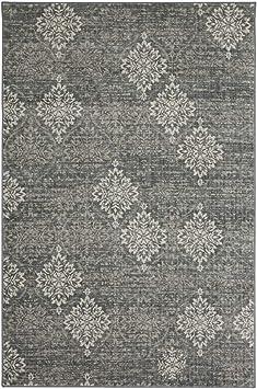 Karastan Euphoria Wexford Ash Grey 5 3 X 7 10 Area Rug