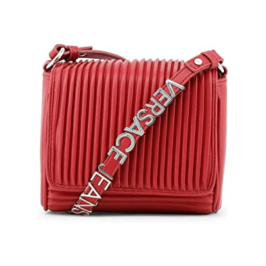 Versace Jeans Crossbody Bags Red  Amazon.co.uk  Clothing 43634558c12e6
