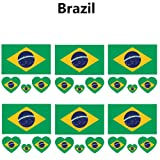 2018 World Cup FIFA National Flags
