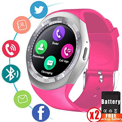 Amazon.com: synmila reloj inteligente Bluetooth ...