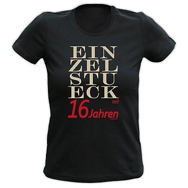 Goodman Design Geschenk 16 Geburtstag Shirt Mädchen T