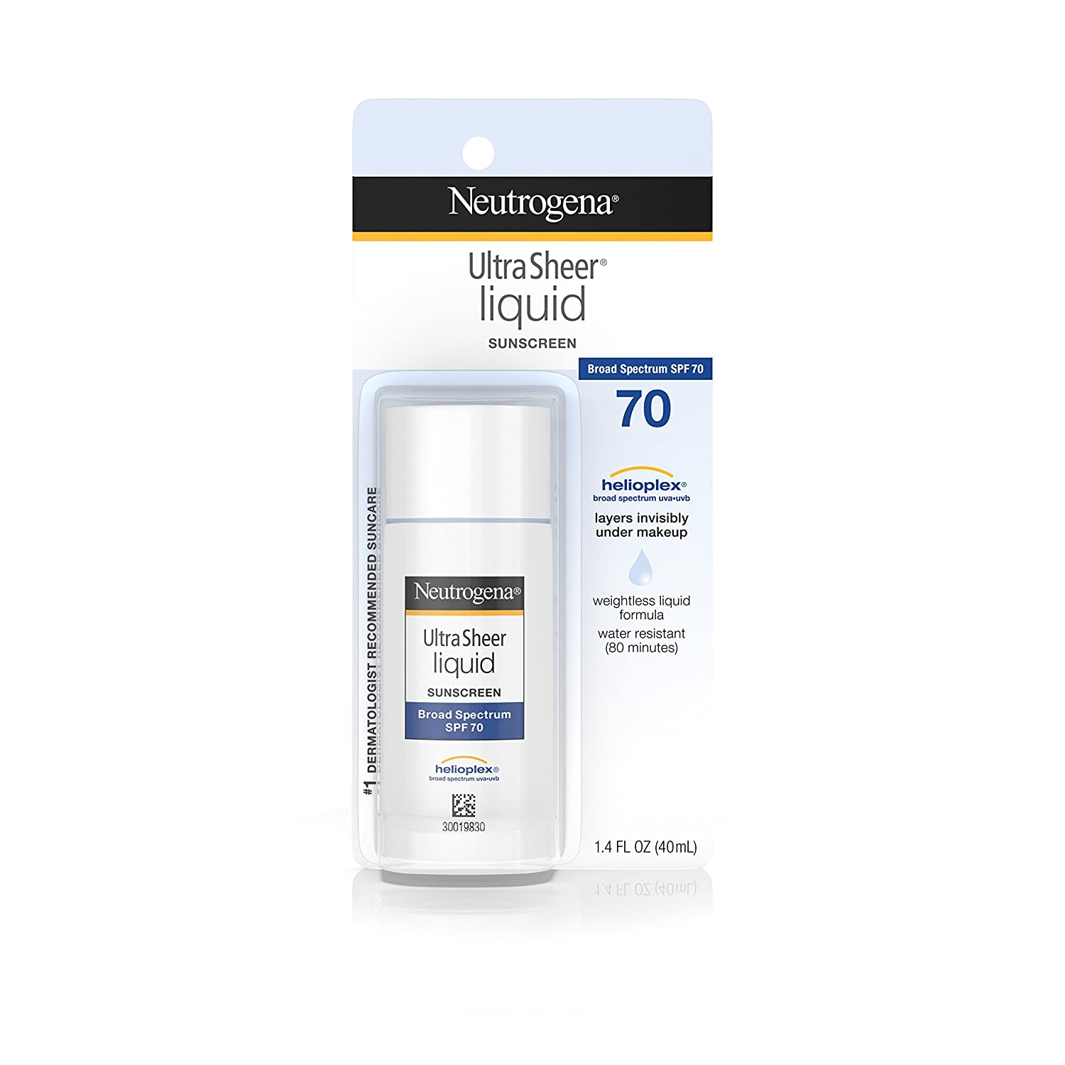 Neutrogena Ultra Sheer Liquid Sunblock, SPF 70, 41 ml J&J426676