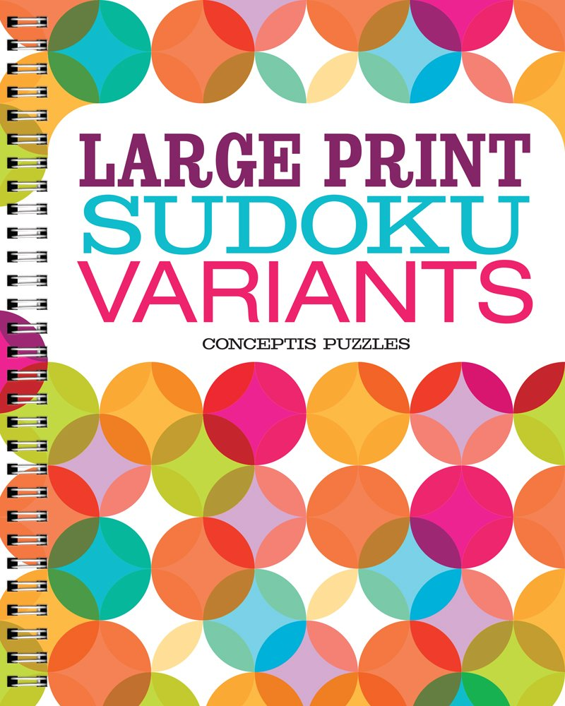 Large Sudoku Variants Conceptis Puzzles product image