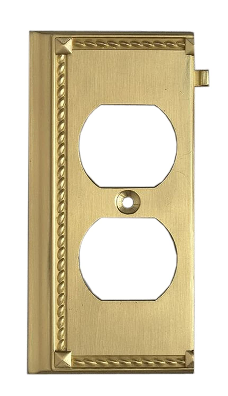 Elk 2506BR Brass End Switch Plate