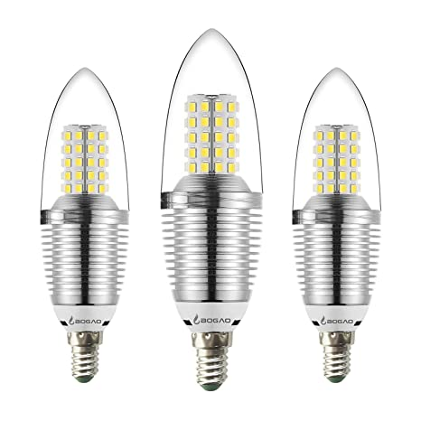 Bombilla LED E14 para Candelabro, de 12 W, color blanco,