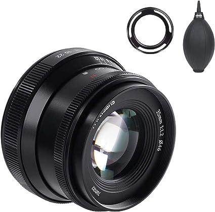 7artisans 35mm F1 2 V2 0 Manuelle Fokussierung Standard Kamera