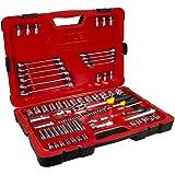 Fatmax Stanley PRO 84pc Piece Mechanical Socket & Spanner Set 1/4'' & 1/2'' dr