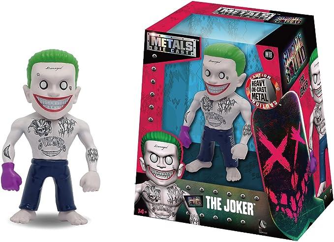 Jada - Figurine DC Heroes Suicide Squad - Joker Movie Version Métals 10cm - 0801310975664: Amazon.es: Juguetes y juegos