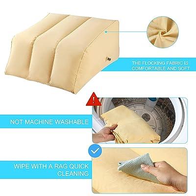 Bed Pillows & Positioners Bedding ghdonat.com Leg Wedge Pillow ...