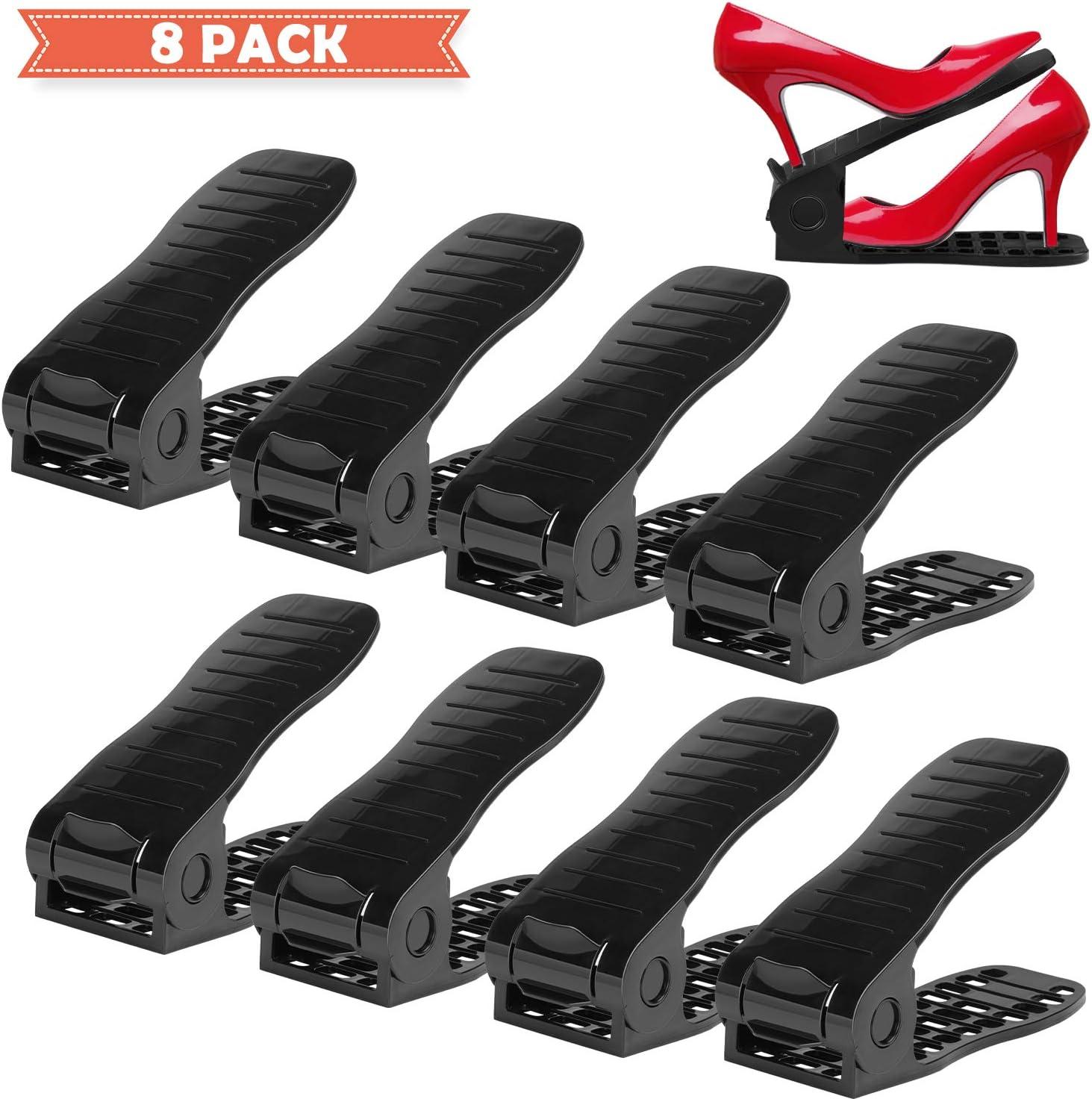 Organizador de Zapatos Ajustable Uktunu 8PCS Durable 4Posiciones ...