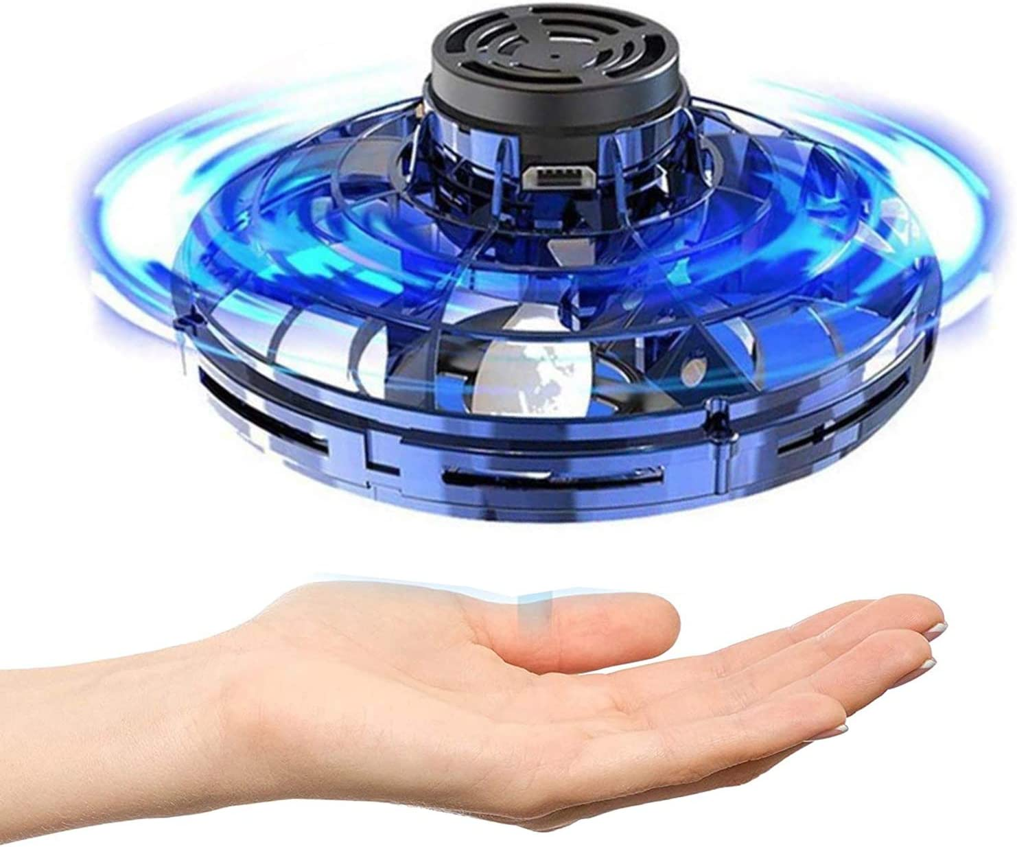 Flying Ball Spinner Hand Operated Drone for Kids Hawiton Flynova Pro Flying Toys Flying Boomerang Spinner with Endless Tricks 360/°Rotating /& LED Lights Helicopter Stress Relief Toys for Boys Gift