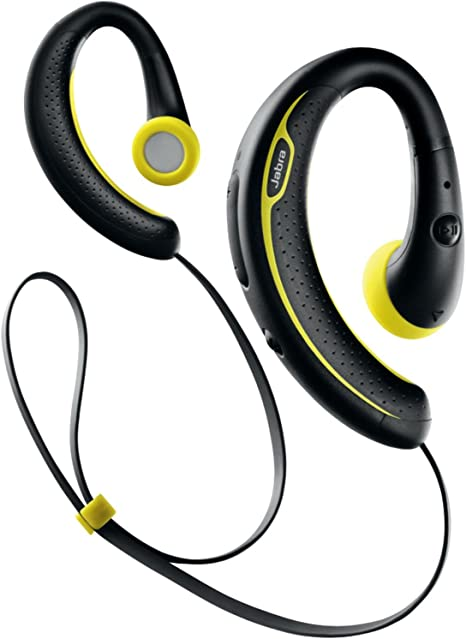 Amazon Com Jabra Sport Plus Wireless Bluetooth Stereo Headphones Retail Packaging Black Yellow Discontinued By Manufacturer