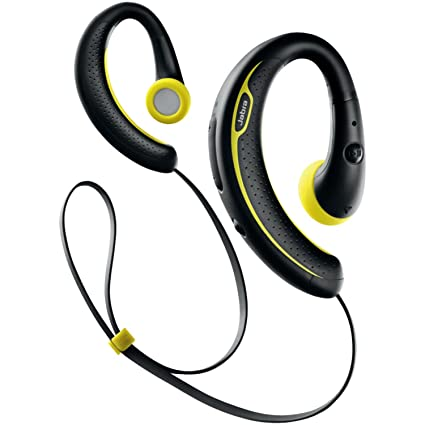 bcf64744181 Amazon.com: Jabra Sport Plus Wireless Bluetooth Stereo Headphones, Retail  Packaging, Black/Yellow (Discontinued by Manufacturer): Cell Phones &  Accessories