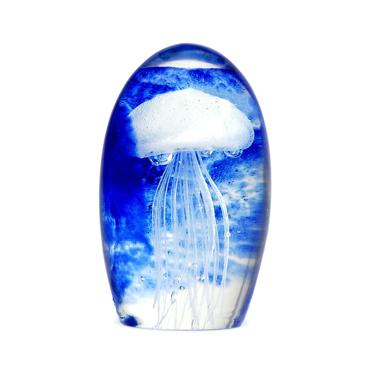 Signes Grimalt Fermacarte MEDUSA, vetro, blu, 13 cm