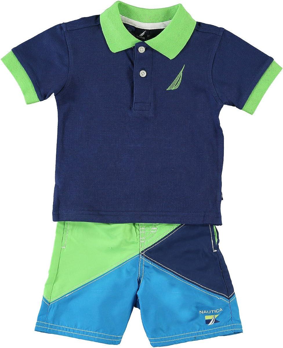 Nautica Juego Polo + Pantalones Cortos (Bañador) Camiseta de ...