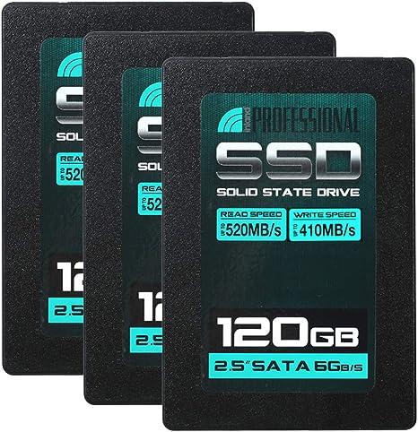 Inland Professional 120GB SSD 3D NAND SATA III 6Gb//s 2.5 7mm Internal Solid Stat