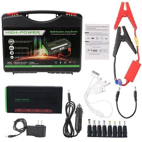 yournamei coche cargador de emergencia, portátil Mini 68000 ...