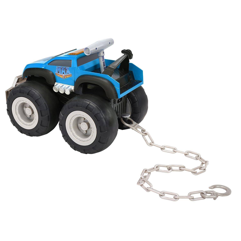 amazon com max tow truck turbo speed truck blue toys u0026 games