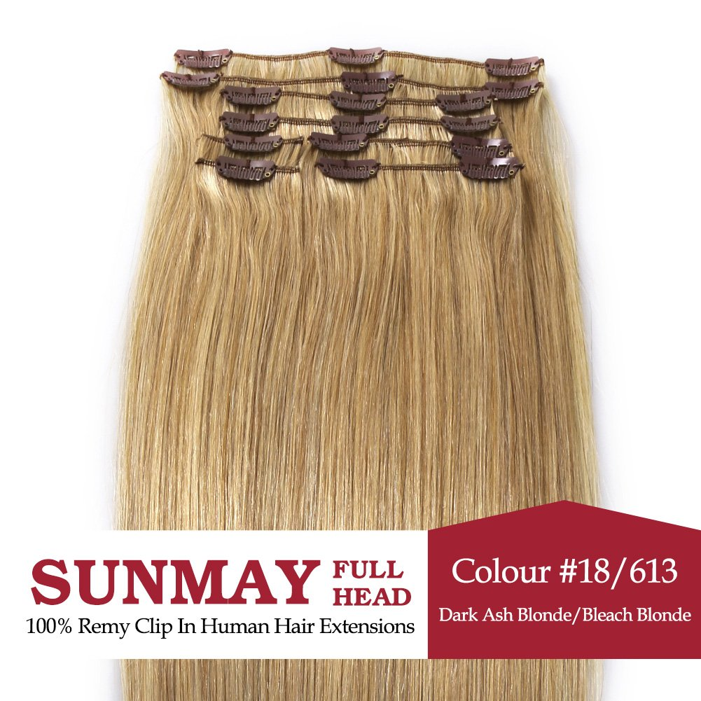 Amazon Sunmay18 Remy Human Hair Clip In Extensions All