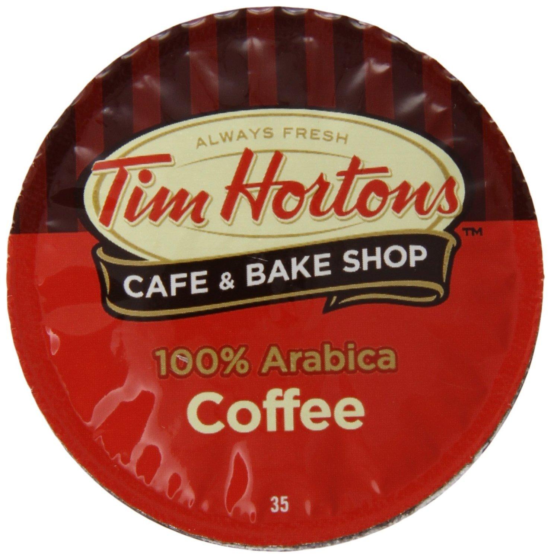 Tim Hortons Single Serve Coffee Original Blend 72 Count by Tim Hortons