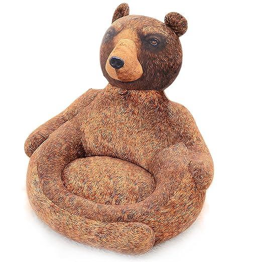 Vercart sofá cama infantil silla para niño niña silla acolchada ...