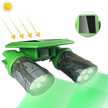 ARTITAN Foco Solar Luces Solares 14 LED PIR Sensor de Movimiento Rotación de 360 °IP65